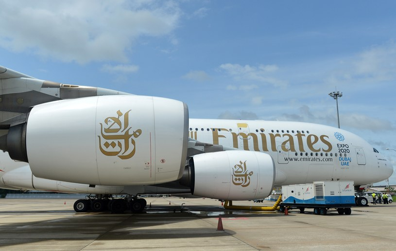 Samolot linii Emirates szczęśliwie wylądował na Sri Lance /AFP
