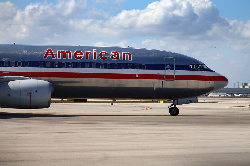 Samolot linii lotniczych American Airlines /AFP