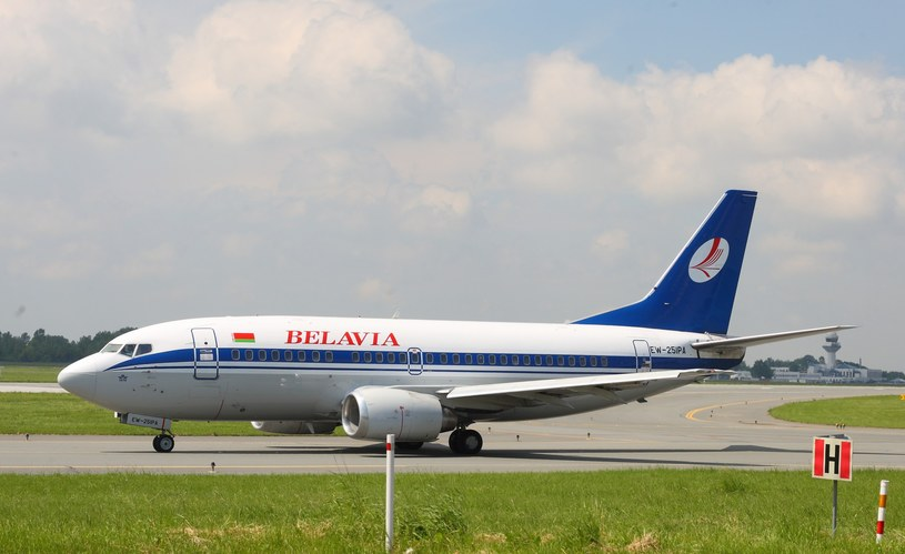 Samolot linii lotniczych Belavia /STANISLAW KOWALCZUK /East News