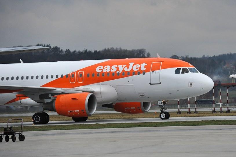 Samolot linii lotniczych EasyJet /Gerard /Reporter
