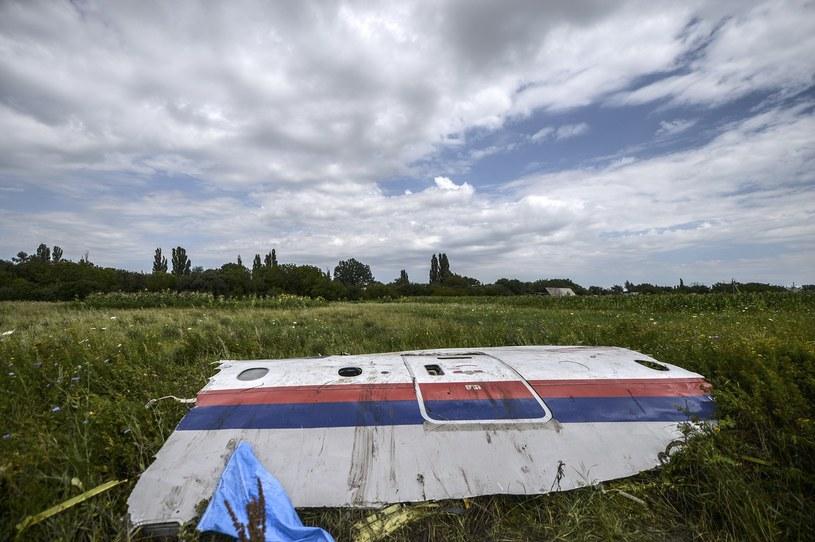 Samolot linii Malaysia Airlines lecący z Amsterdamu do Kuala Lumpur został zestrzelony 17 lipca /AFP