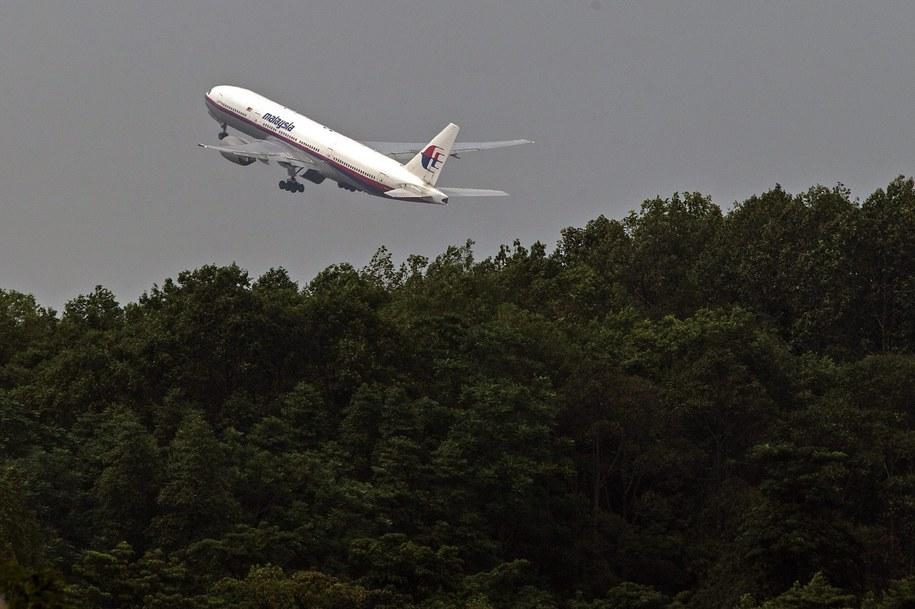 Samolot linii Malaysia Airlines /AHMAD YUSNI /PAP/EPA