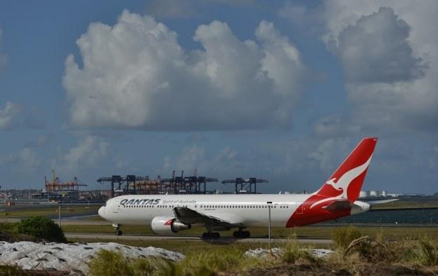 Samolot linii Qantas /AFP