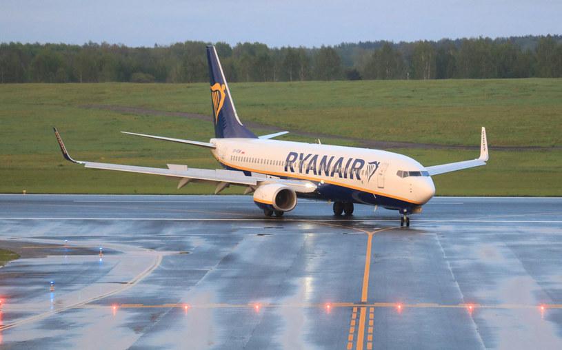 Samolot linii Ryanair; zdj. ilustracyjne /AFP