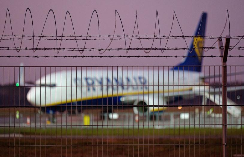 Samolot linii Ryanair, zdjęcie ilustracyjne /Bartosz Krupa/East News/East News /East News