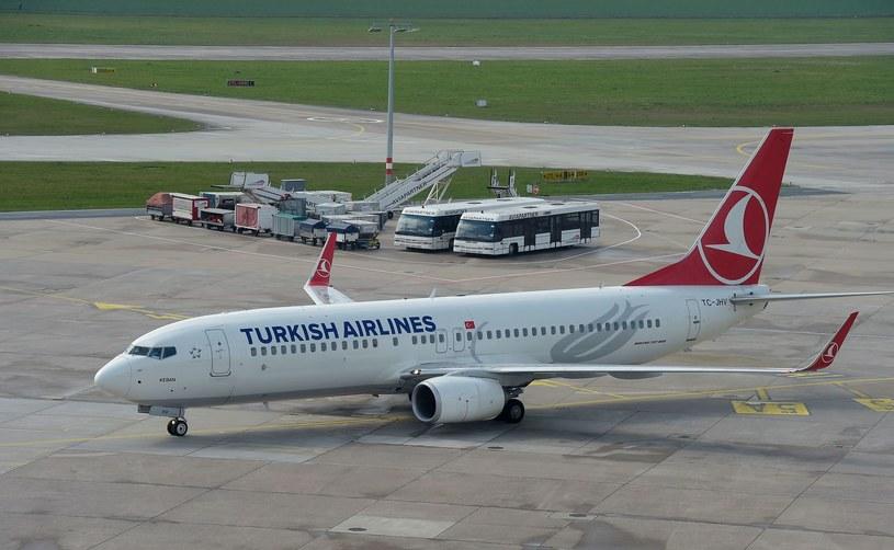 Samolot linii Turkish Airlines, zdjęcie ilustracyjne /AFP