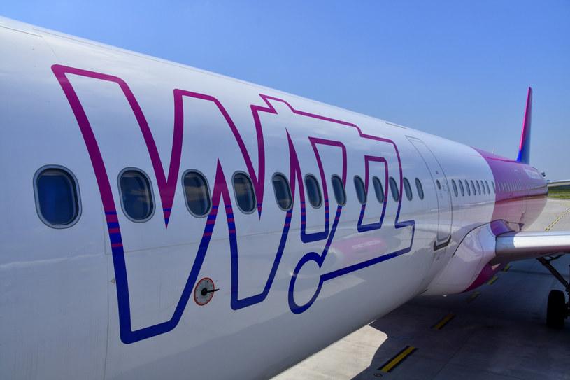 Samolot linii WizzAir /Albin Marciniak /East News