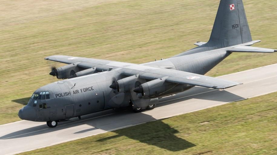 Samolot Lockheed C-130 Hercules. Zdj. ilustracyjne /Tomasz Koryszko /PAP