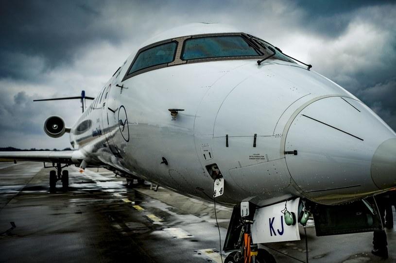Samolot Lufthansy /Dawid Markysz / EDYTOR.net / NEWSPIX.PL /Newspix