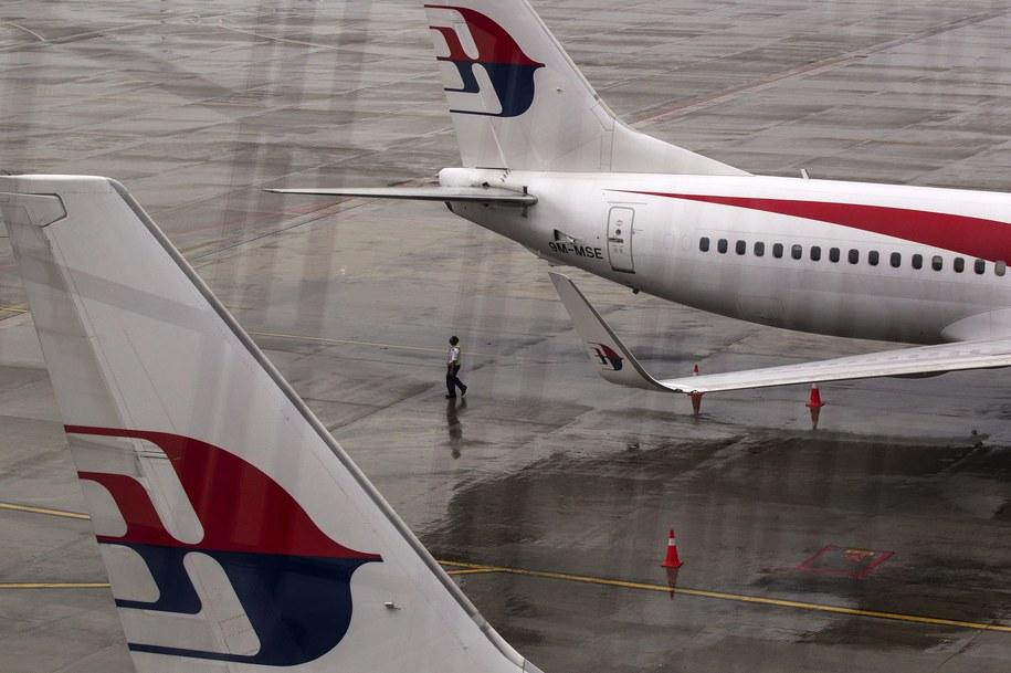 Samolot Malaysia Airlines miał awarię autopilota /AZHAR RAHIM /PAP/EPA