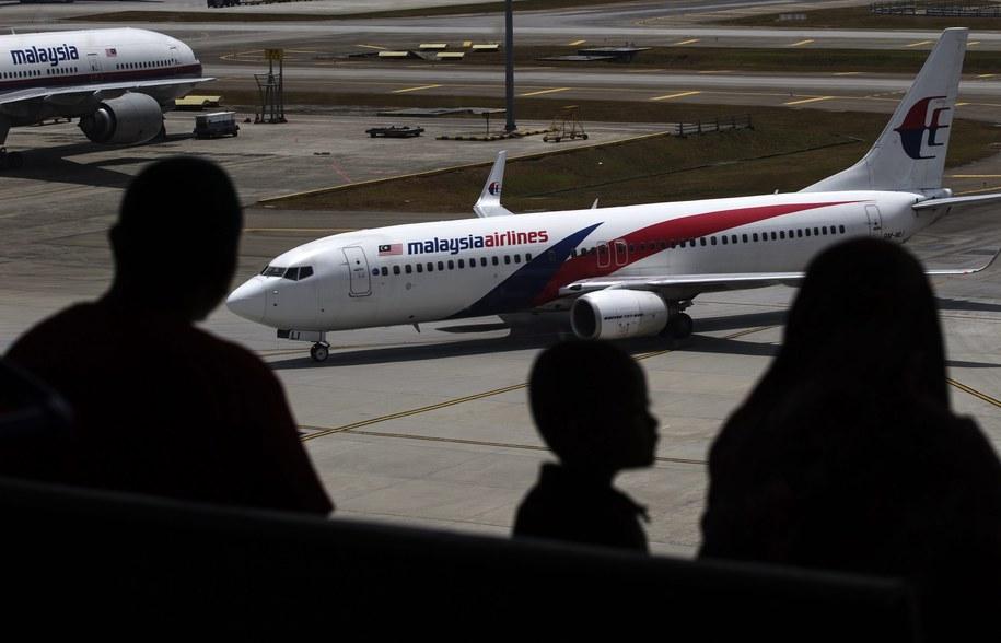 Samolot malezyjskich linii lotniczych Malaysia Airlines /AHMAD YUSNI /PAP/EPA