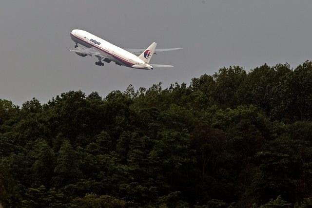 Samolot malezyjskich linii lotniczych /AHMAD YUSNI /PAP/EPA