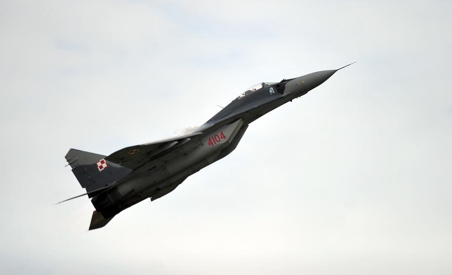 Samolot MiG-29 (zdj. archiwalne) / Marcin Bielecki    /PAP