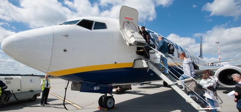 Samolot na łódzkim lotnisku /Andrzeja Zbaraniecki /East News