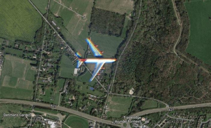 Samolot należy do linii Virgin Atlantic /Google Maps /Internet