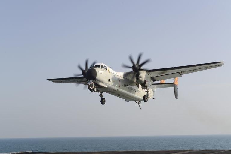 Samolot Osprey / fot. US Navy /materiał zewnętrzny