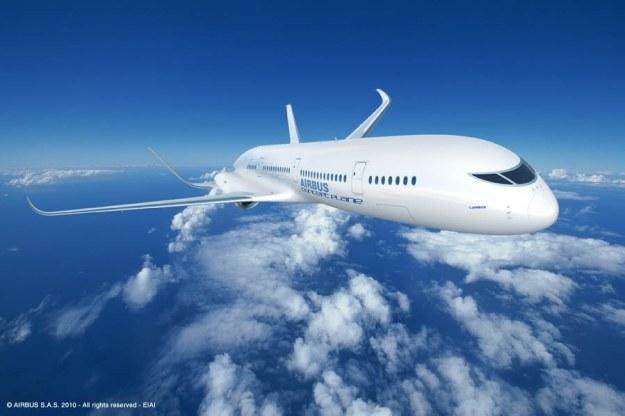 Samolot pasażerski przyszłości /materiały prasowe