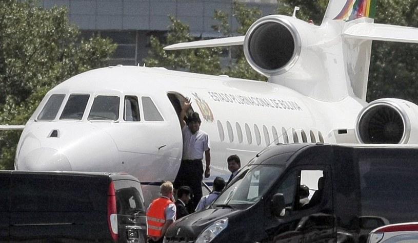Samolot prezydenta musiał przymusowo lądować/ AFP /Patrick Domingo /East News