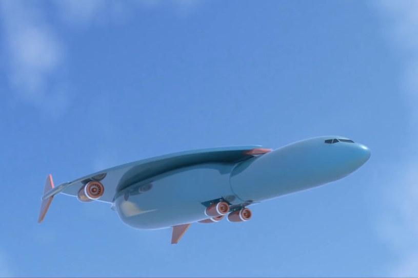 Samolot projektowany przez Airbusa ma pokonać atlantyk w godzinę! /YouTube