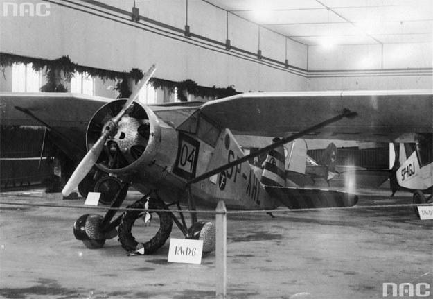 Samolot RWD-6, na którym latali Franciszek Żwirko i Stanisław Wigura /Z archiwum Narodowego Archiwum Cyfrowego