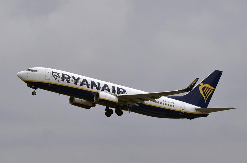 Samolot Ryanair w powietrzu /PASCAL PAVANI /AFP