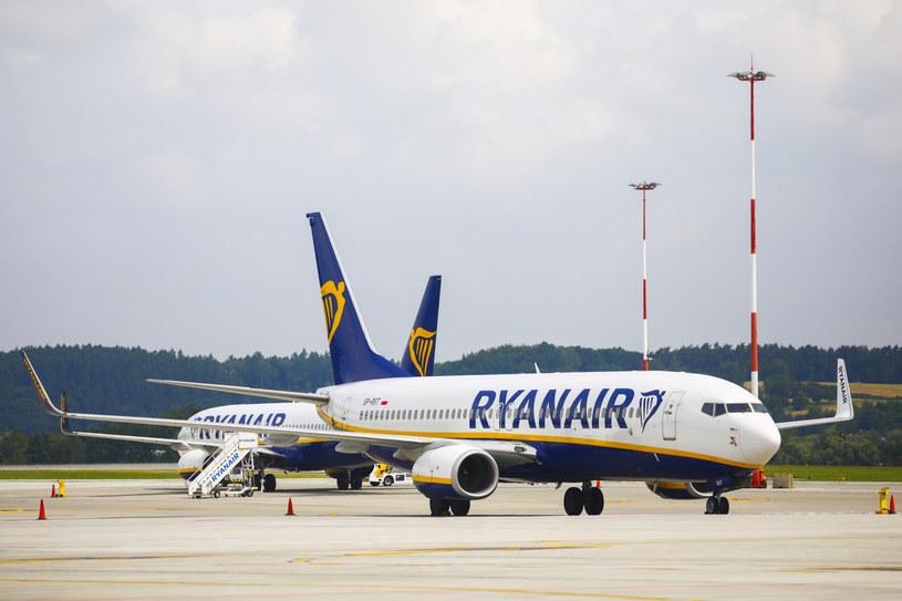 Samolot Ryanair, zdj. ilustracyjne /Beata Zawrzel /Reporter