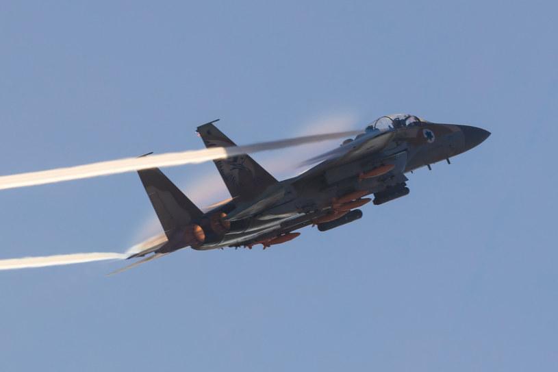 Samolot Sił Powietrznych Izraela, zdjęcie ilustracyjne /azeitler /123RF/PICSEL