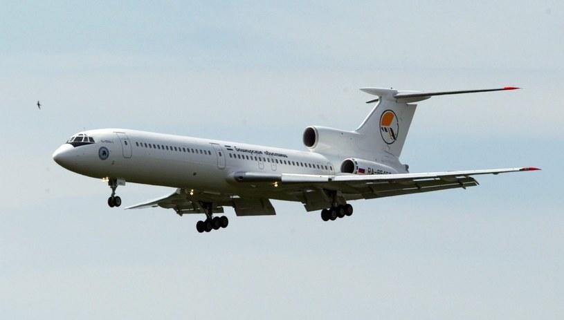 Samolot Tu-154 /PAP/EPA