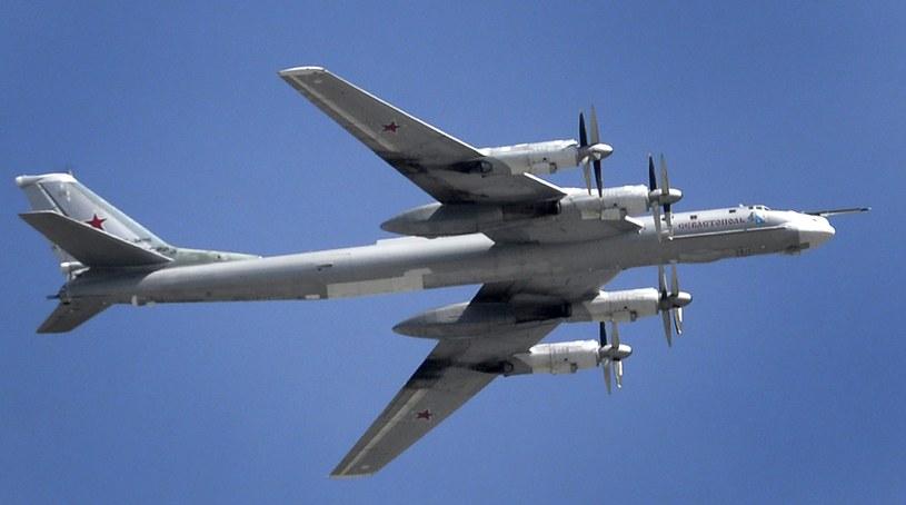 Samolot Tu-95; zdj. ilustracyjne /ALEXANDER NEMENOV / AFP /AFP