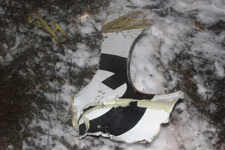 Samolot utracił wysokość i uderzył w płytę lotniska przy próbie odejścia na drugi krąg /RUSSIAN EMERGENCY MINISTRY PRESS SERVICE /PAP/EPA