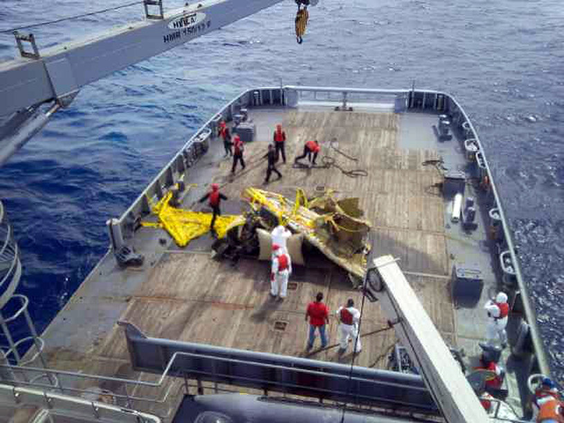 Samolot Vittorio Missoniego został odnaleziony po pół roku poszukiwań /AFP