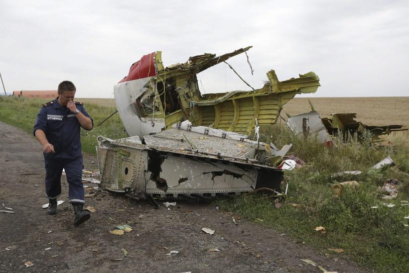 Samolot został zestrzelony nad wschodnią Ukrainą /PAP/EPA