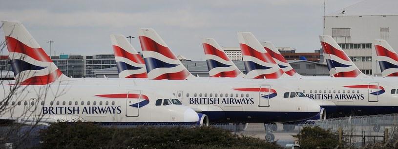 Samoloty British Airways /AFP