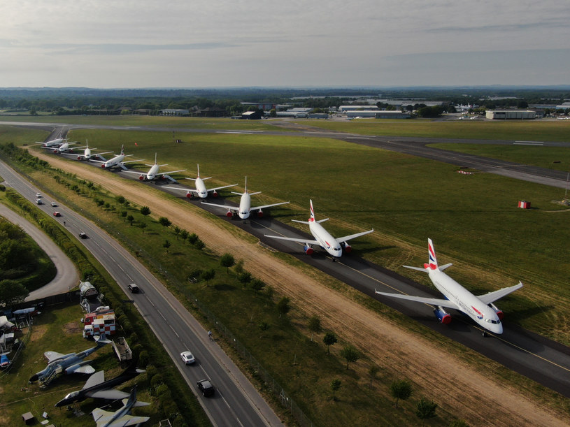 Samoloty British Airways /Maritime Filming/Solent News & Photo Agency/Solent News /East News