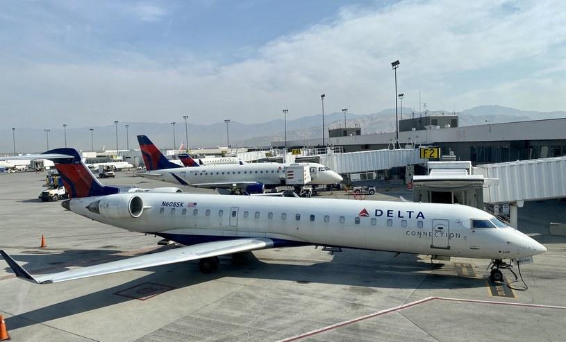 Samoloty Delta Air Lines /AFP