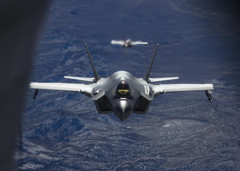 Samoloty F-35; zdj. ilustracyjne /Cover Images /Agencja FORUM