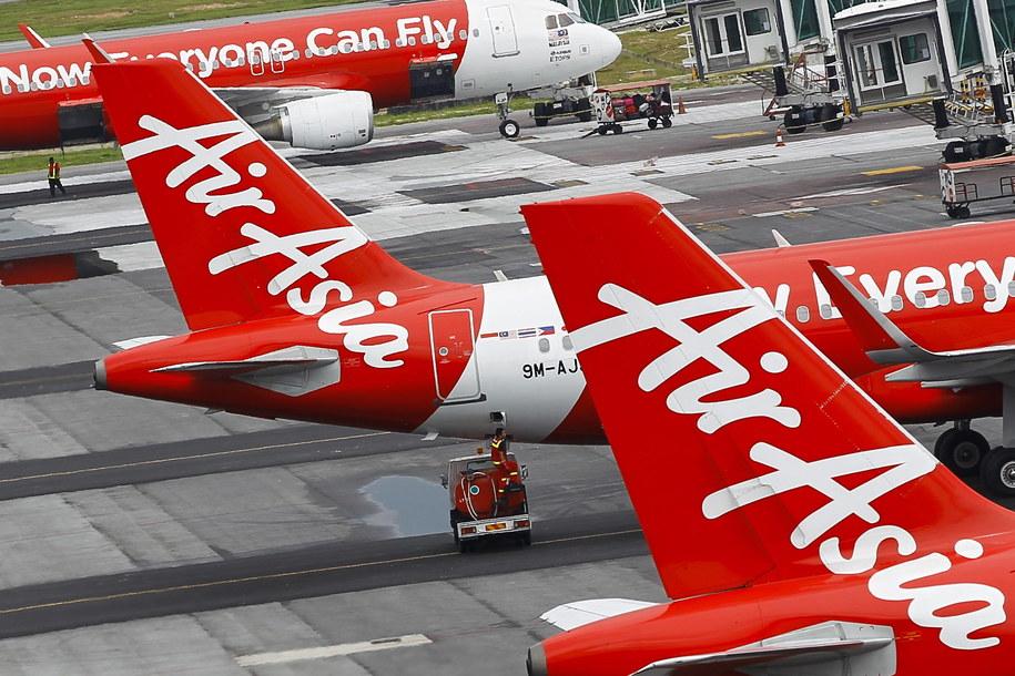Samoloty linii AirAsia /FAZRY ISMAIL /PAP/EPA