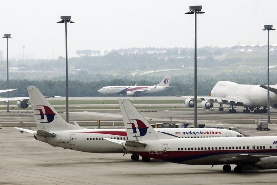 Samoloty malezyjskich linii lotniczych /AZHAR RAHIM /PAP/EPA