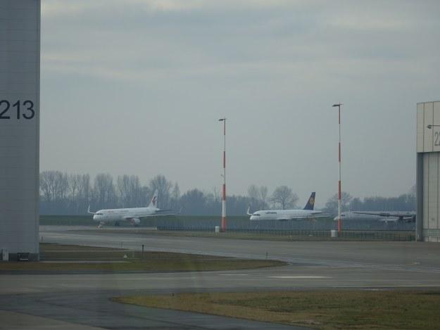 Samoloty na płycie Hamburg Finkenwerder /INTERIA.PL