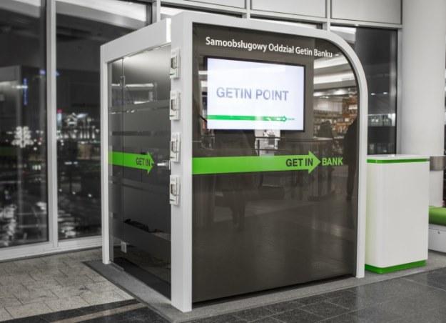 Samoobsługowy oddziałów VTM - czyli Getin Point. Czy to przyszłość bankowości? /materiały prasowe