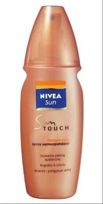 Samoopalacz w spray'u /materiały promocyjne