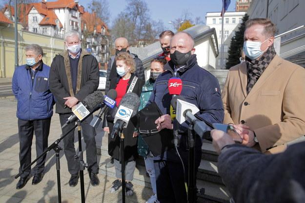 Samorządowcy i właściciele biznesów nie chcą lockdownu na Warmii i Mazurach /Tomasz Waszczuk /PAP