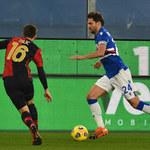 Sampdoria - Genoa CFC 1-3 w meczu 1/16 finału Pucharu Włoch