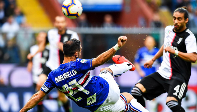 Sampdoria Genua - Juventus Turyn 2-0 w 38. kolejce Serie A