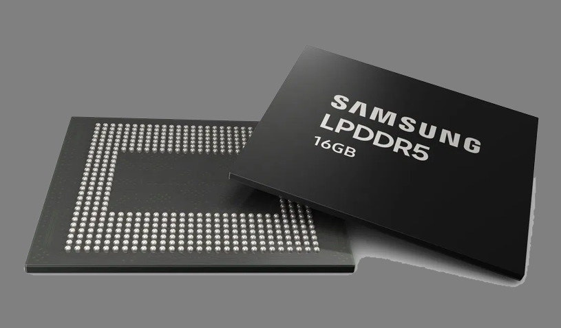 Samsung 16 GB LPDDR5 RAM /materiały prasowe