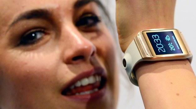 Samsung chce nas zasypać również zegarkami /AFP