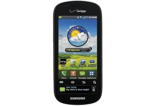 Samsung Continuum z dwoma wyświetlaczami w wersji dla amerykańskiego operatora Verizon /materiały prasowe