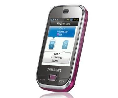 Samsung DUOZ B5722 - dotykowe 2 karty SIM