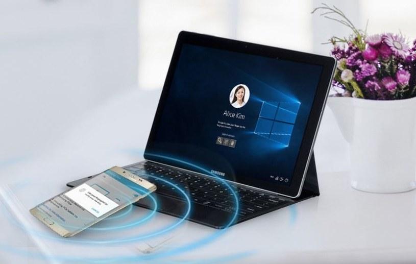 Samsung Flow współpracuje z Windows Hello /materiały prasowe