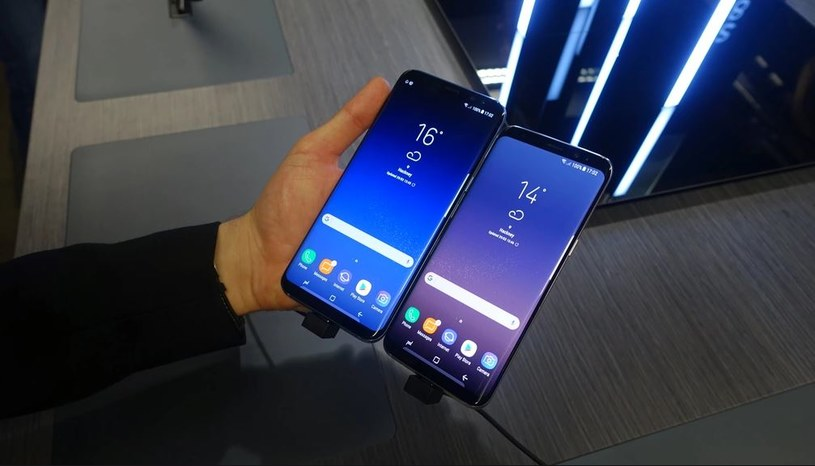 Samsung Galaxy 8 i Samsung Galaxy S8+ /AFP